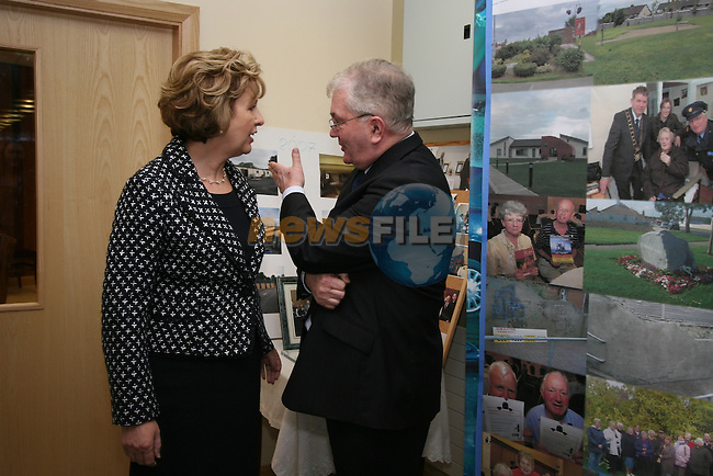 Mary McAleese visiting Grove Early Years Centre and Holy Family Centre in Ballsgrove.  Pictured here with Aidan Walsh...Photo NEWSFILE/Jenny Matthews.(Photo credit should read Jenny Matthews/NEWSFILE)....This Picture has been sent you under the condtions enclosed by:.Newsfile Ltd..The Studio,.Millmount Abbey,.Drogheda,.Co Meath..Ireland..Tel: +353(0)41-9871240.Fax: +353(0)41-9871260.GSM: +353(0)86-2500958.email: pictures@newsfile.ie.www.newsfile.ie.FTP: 193.120.102.198.