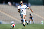 15 September 2013: North Carolina's Cameron Castleberry. The University of North Carolina Tar Heels hosted the University of Notre Dame Fighting Irish at Fetzer Field in Chapel Hill, NC in a 2013 NCAA Division I Women's Soccer match. Notre Dame won the game 1-0.