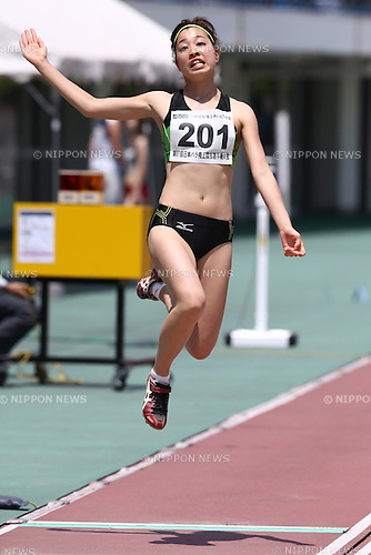Mirai Kurauchi,<br /> MAY 1, 2016 - Athletics :<br /> Japan Para Athletics Championships<br /> Women's Long Jump T20 Final<br /> at Coca Cola West Sports Park, Tottori, Japan.<br /> (Photo by Shingo Ito/AFLO SPORT)