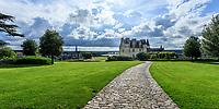 France, Indre-et-Loire (37), Amboise, château d'Amboise