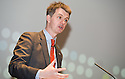 John Rendall, HSBC CEO for Scotland, at the Falkirk Business Panel Update Event 2012, Falkirk Town Hall...