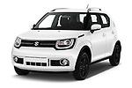 2018 Suzuki Ignis GLX 5 Door Hatchback angular front stock photos of front three quarter view