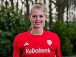 HOUTEN - keeper Alexandra Heerbaart.  selectie Nederlands damesteam voor Pro League wedstrijden.       COPYRIGHT KOEN SUYK