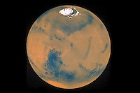 Mars, North Pole