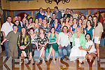 21ST: Hayley Moriarty, St Margarets Road, Killarney (seated centre) celebrates her 21st birthday with family and friends in the Killarney Avenue Hotel last Saturday night..