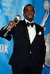 "LOS ANGELES, CA. - February 12: Actor Sean ""Diddy"" Combs poses in the press room for the 40th NAACP Image Awards at the Shrine Auditorium on February 12, 2009 in Los Angeles, California."