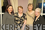 Margaret Murnane, Shelia Crowley, Bridie Mangan and Martina Tangney at the Kilcolman Womens group annual fundraising dinner in Kate Kearneys on Monday night....