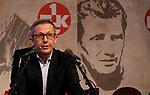 1. FC Kaiserslautern - Jahreshauptversammlung<br /> Patrick BANF bei seinem Bericht<br /> <br /> Foto © PIX-Sportfotos *** Foto ist honorarpflichtig! *** Auf Anfrage in hoeherer Qualitaet/Aufloesung. Belegexemplar erbeten. Veroeffentlichung ausschliesslich fuer journalistisch-publizistische Zwecke. For editorial use only. DFL regulations prohibit any use of photographs as image sequences and/or quasi-video.