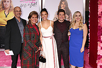 """LOS ANGELES - FEB 11:  Adam DeVine, Family, Chloe Bridges at the """"Isn't It Romantic"""" World Premiere at the Theatre at Ace Hotel on February 11, 2019 in Los Angeles, CA"""