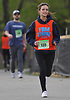 Chrissy Miloscia participates in the inaugural 1-mile race as part of Long Island Marathon Weekend at Eisenhower Park on Saturday, May 5, 2018. She and family members ran to honor the memory of her brother, Thomas Matthew Miloscia, who died of an aggressive form of cancer in October 2015 at the age of 18. The Thomas Matthew Miloscia Foundation has since been founded in order to support families with members battling the illness.