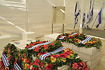 Israel, tombs of Lt Col John Henry Patterson and his wife Frances Helena at Moshav Avihayil
