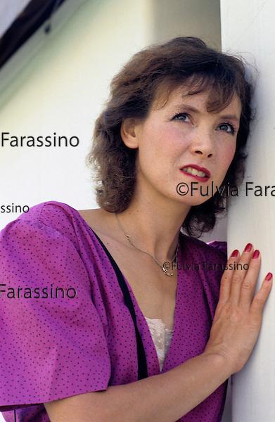Venezia, 1986 circa, Sabine Azéma ;