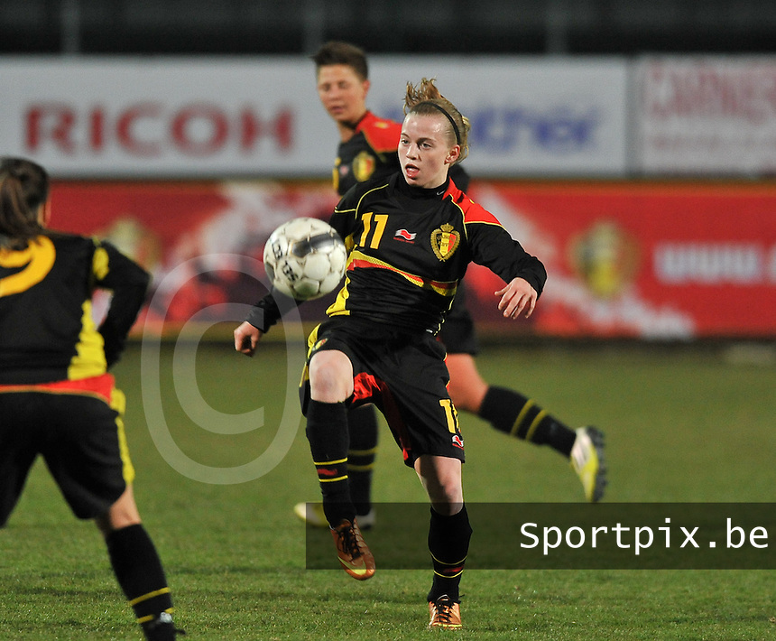 France U19 - Belgium U19 : Yana Haesebroek.foto DAVID CATRY / Nikonpro.be