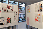 VISIBILE & INVISIBILE. Inaugurazione alla ex Tipografia Sosso della mostra sui mestieri del designer dell'informazione attraverso i principali quotidiani di lingua neolatina. Settembre 2012
