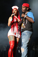 NEWARK, NEW JERSEY - OCTOBER 26: Cardi B and Offset at iHeartMedia's Power 105.1's Powerhouse 2019 presented by AT&T at the Prudential Center in Newark, New Jersey on October 26, 2019. Credit: Walik Goshorn/MediaPunch