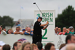 Shane Lowry teeing off on the second tee on the final day of the 3 Irish Open, at the Killarney Golf and Fishing Club, Killarney, Ireland.Picture Fran Caffrey/www.golffile.ie.
