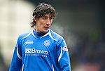 St Johnstone v Rangers...14.01.12  .Fran Sandaza.Picture by Graeme Hart..Copyright Perthshire Picture Agency.Tel: 01738 623350  Mobile: 07990 594431