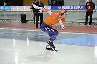 SPEEDSKATING: SALT LAKE CITY: 08-12-2017, Utah Olympic Oval, ISU World Cup, 500m Men B-Division, Aron Romeijn (NED), ©photo Martin de Jong