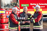 Greggs goodies for Firefighters