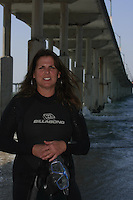 Friday April 11, 2008 Ocean Beach.  Pt. Loma resident Lisa Morse, a special education teacher and avid swimmer, will be heading to the Bahamas soon to work with the Reef Relief organization.