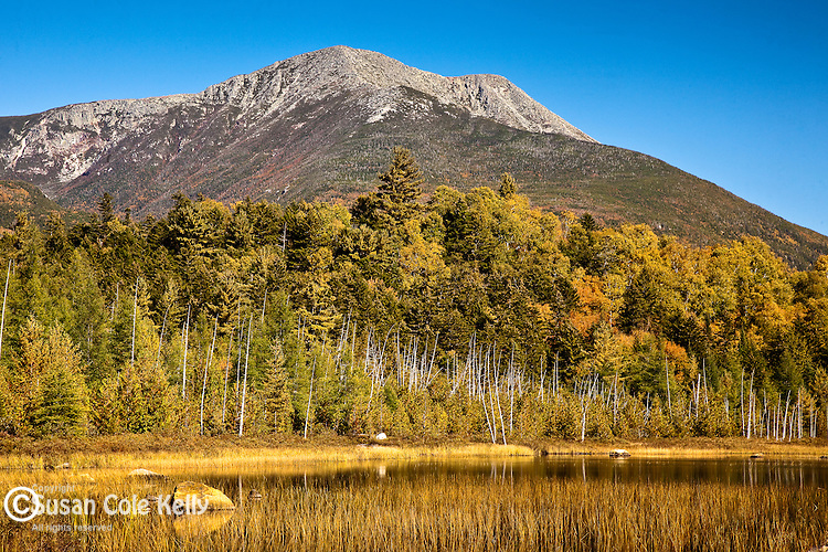 Mt Katahdin over Tracy Pond, Baxter State Park, ME