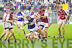 Rory Horgan Saint Brendans in action against Kenneth Leahy Causeway in the Semi finals of the Kerry Senior Hurling Championship at Austin Stack Park, Tralee on Saturday.