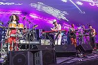 Pimps of Joytime perform at Voodoo Fest 2012 in New Orleans, LA.