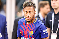 EAST RUTHERFORD, EUA, 22.07.2017 - JUVENTUS-BARCELONA -Neymar Jr.  do Barcelona (ESP) durante partida contra a Juventus (ITA) valido pela Internacional Champions Cup no MetLife Stadium na cidade de East Rutherford nos Estados Unidos neste sábado, 22. (Foto: William Volcov/Brazil Photo Press)