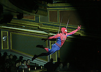 Spider-Man: Turn Off the Dark.  Foxwoods Theatre.  Photo by Ari Mintz.  6/2/2011.