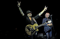 LONDON, ENGLAND - SEPTEMBER 8: Dave Stewart and Bob Geldof performing at Shepherd's Bush Empire on September 8, 2017 in London, England.<br /> CAP/MAR<br /> &copy;MAR/Capital Pictures
