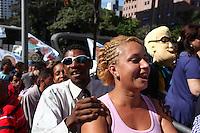 SÃO PAULO, SP, 21  DE AGOSTO DE 2012. ELEIÇÕES 2012 - CELSO RUSSOMANNO.   inauguracao do comitê central da campanha de Celso Russomanno na avenida 9 de julho na zona Sul da capital paulista. FOTO: ADRIANA SPACA - BRAZIL PHOTO PRESS