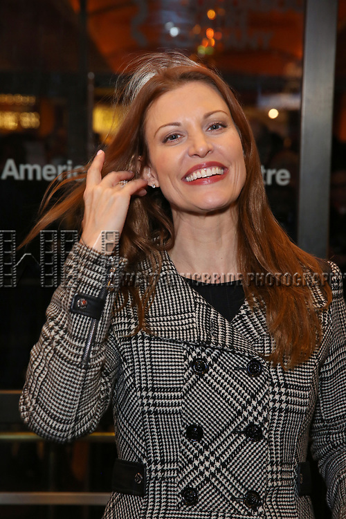 "Rachel York attends the Broadway Opening Night Performance of ""John Lithgow: Stories by Heart"" at the American Airlines Theatre on January 11, 2018 in New York City."