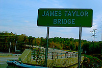 James Taylor Bridge Sign Chapel Hill North Carolina USA By Jonathan Green