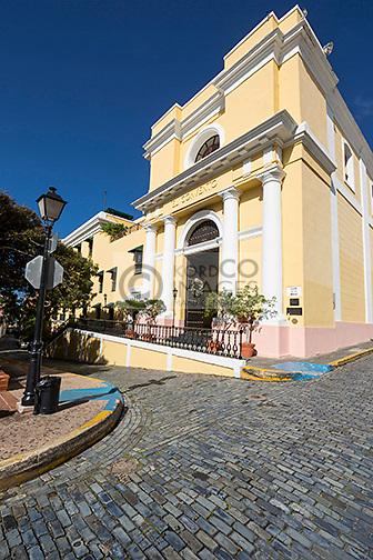 COBBLESTONE STREET HOTEL EL CONVENTO PLAZA DE LA CATEDRAL OLD SAN JUAN PUERTO RICO