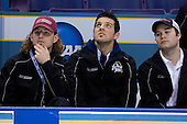 Skills competitors Joe Van Culin (Ferris State University - Monticello, MN), Andrew Gallant (Manhattanville College - Summerside, PEI) and T.J. Hensick (University of Michigan - Howell, MI) - The Hobey Baker Memorial Award ceremony was held at center ice on Friday, April 6, 2007, at the Scottrade Center in St. Louis, Missouri.