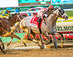 JUNE 08, 2019 : Marconi, with Jose Lezcano, wins the Brooklyn Invitational, at Belmont Park, in Elmont, NY, June 8, 2019.  Sue Kawczynski_ESW_CSM