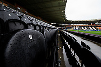 A general view of the KCOM Stadium, home of Hull City<br /> <br /> Photographer Alex Dodd/CameraSport<br /> <br /> The EFL Sky Bet Championship - Hull City v Leeds United - Saturday 29th February 2020 - KCOM Stadium - Hull<br /> <br /> World Copyright © 2020 CameraSport. All rights reserved. 43 Linden Ave. Countesthorpe. Leicester. England. LE8 5PG - Tel: +44 (0) 116 277 4147 - admin@camerasport.com - www.camerasport.com