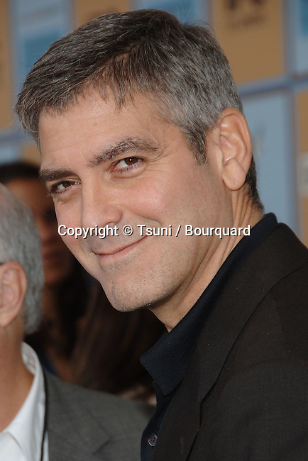 George Clooney arriving at the 21th Independent Spirit Awards on Santa Monica Beach  in Los Angeles March 4th, 2006.