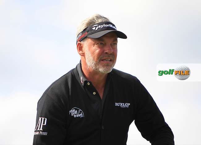 Darren Clarke (NIR) on the 4th tee during Round 1 of the 2015 KLM Open at the Kennemer Golf &amp; Country Club in The Netherlands on 10/09/15.<br /> Picture: Thos Caffrey | Golffile