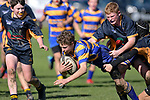 NELSON, NEW ZEALAND - AUGUST 8: U14 Rugby - Wanderers v MBC, Brightwater, 8th August, New Zealand. (Photos by Barry Whitnall/Shuttersport Limited)