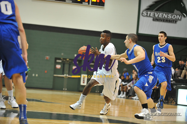 The Mustang men's basketball team defeated the Blue Jays of Elizabethtown College 76-68.The Mustang men's basketball team defeated the Blue Jays of Elizabethtown College 76-68.