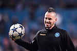 Marek Hamsik of SSC Napoli before the match Real Madrid vs Napoli, part of the 2016-17 UEFA Champions League Round of 16 at the Santiago Bernabeu Stadium on 15 February 2017 in Madrid, Spain. Photo by Diego Gonzalez Souto / Power Sport Images
