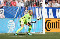 Cary, NC - Sunday October 22, 2017: Jane Campbell during an International friendly match between the Women's National teams of the United States (USA) and South Korea (KOR) at Sahlen's Stadium at WakeMed Soccer Park. The U.S. won the game 6-0.