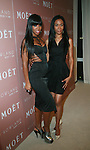 Kelly Rowland and Michelle Williams attend Moët & Chandon and Kelly Rowland debut the Rosé Lounge with an exclusive celebration for Kelly Rowland's new album Here I Am at The Standard Hotel, NY 7/26/11