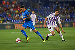 Getafe CF's Mauro Arambarri and Real Valladolid's Ruben Alcaraz during La Liga match. August 31, 2018. (ALTERPHOTOS/A. Perez Meca)