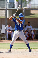 Fernando Cruz - Kansas City Royals 2009 Instructional League. .Photo by:  Bill Mitchell/Four Seam Images..