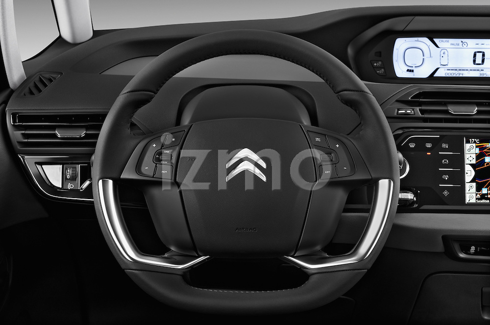 Steering wheel view of a 2013 Citroen GRAND C4 PICASSO Intensive 5 Door Minivan 2WD