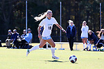 CARY, NC - NOVEMBER 19: North Carolina's Megan Buckingham. The University of North Carolina Tar Heels hosted the Princeton University Tigers on November 19, 2017 at Koka Booth Stadium in Cary, NC in an NCAA Division I Women's Soccer Tournament Third Round game. Princeton won 2-1 in sudden death overtime.