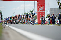 Team OmegaPharma-Quickstep leading the way in the peloton<br /> <br /> Belgian Championships 2014 - Wielsbeke<br /> Elite Men