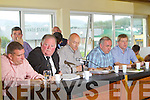 The top table pictured at the Kerry County Board meeting on Monday night were Patrick O'Sullivan, Jerome Conway, Chairman, Peter Twiss, Joe O'Carroll and Weeshie Lynch.